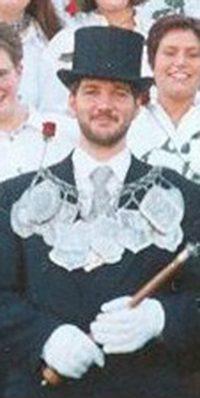 Schützenkönig Werner Braun. Foto: Dominik Knieps