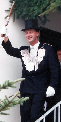 Schützenkönig Markus Jüris. Foto: Markus Jüris