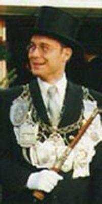 Schützenkönig Tibor Bender. Foto: Thomas Schaaf