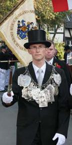 Schützenkönig Thomas Hergarten. Foto: Thomas Schaaf