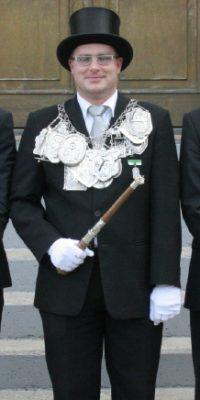 Schützenkönig Marco Schmidt. Foto: Thomas Schaaf