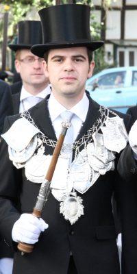 Schützenkönig Dominik Knieps. Foto: Thomas Schaaf
