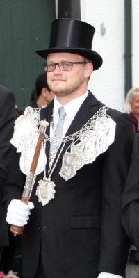 Schützenkönig Robin Grießel. Foto: Anna-Maria Schütz