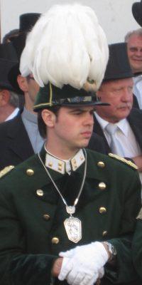Hauptmann Dominik Knieps. Foto: Anja Knieps