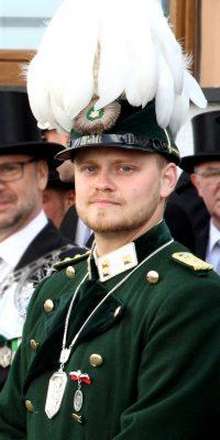 Hauptmann Robin Grießel. Foto: Anja Knieps