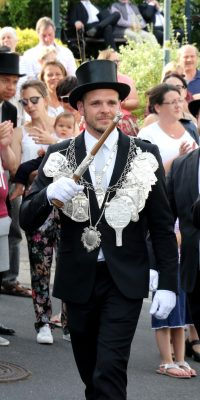 König Benedikt Fabritius. Foto: Thomas Schaaf