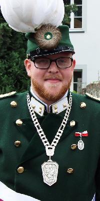 Hauptmann Tim Ley. Foto: Johannes Schütz