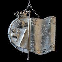 Königsschild von Matthias Schopp. Foto: Robin Grießel